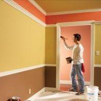 Các sự cố điển hình về sơn nội thất