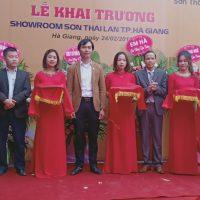 Sơn Thái Lan Mở Rộng Hệ Thống Showroom Tp. Hà Giang