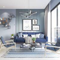 Top 08 màu sơn phòng khách đẹp nhất 2019